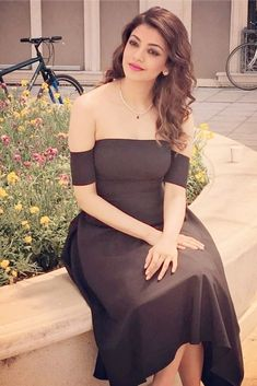 Kajal Aggarwal Beautiful Girl Image, Beautiful Hijab, Beautiful Asian Girls, Most Beautiful Women, Most Beautiful Indian Actress, Beautiful Actresses, Glam Photoshoot, Cute Girl Dresses, Bollywood Girls