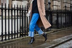 On the Streets of London Fashion Week Fall 2014 - London Day 1