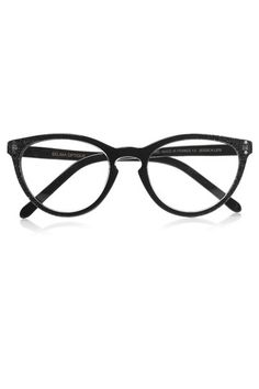 Gafas de pasta negra de estilo retro - TELVA
