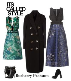 Burberry by chic-splendor on Polyvore featuring polyvore, fashion, style, Burberry and clothing