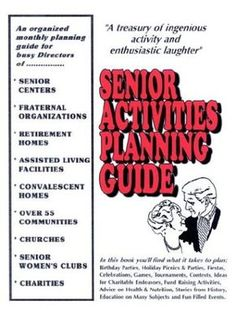 SENIOR ACTIVITIES PLANNING GUIDE