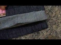 Bainha de calça jeans original por Gisele Cole.