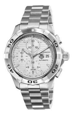 TAG Heuer Men's CAP2111.BA0833 Aquaracer Silver Chronograph Dial Watch from TAG Heuer @ TAG-Heuer-Watches .com