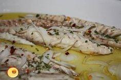Filetto di sgombro lesso con olio, limone, peperoncino, prezzemolo e cipolla bianca! Una prelibatezza del nostro amato mare! - Siciliafan