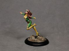 Painting tutorial for Rogue from Knight Models.