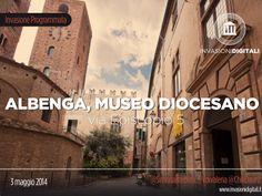 sabato 3 maggio ore 15:00 arrivano ad Albenga le #invasionidigitali! #invadiamoalbenga: museo diocesano e battistero