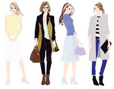 Takako Work #illust #illustration #fashionillustration #Takako