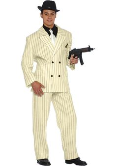 1920s Pinstripe Gangster Suit - Retro Costumes at Escapade™ UK - Escapade Fancy Dress on Twitter: @Escapade_UK