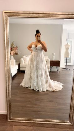 Country Wedding Dresses, Boho Wedding Dress, Dream Wedding Dresses, Wedding Attire, Plus Size Wedding Dresses With Sleeves, Plus Size Wedding Gowns, Curvy Bride, Bridal Gowns, Marie