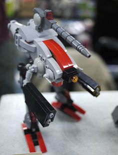 Lego Zentraedi Officer's Battle Pod by Tokyo Scum Brigade, via Flickr