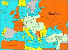 How did world war 1 start an interactive map lesson interactive how did world war 1 start an interactive map lesson interactive map unit studies and social studies publicscrutiny Choice Image