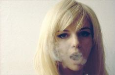serge gainsbourge's young protege, france gall, post-innocence perhaps and looking all the better for it