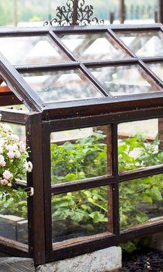 Tee versojen kasvutorni alumiinivuoista | Meillä kotona Terrarium, Windows, Garden, Home Decor, Gardens, Terrariums, Garten, Decoration Home, Room Decor