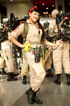 """Name: Luna X MarsAge: 29Profession: ModelCostume: GhostbusterWhy did you choose to dress like a Ghostbuster? Have you heard the rumors of an all-female movie? """"No! I didn't hear about that! I've just loved Ghostbusters since I was a kid. I even met [the cast]."""""""