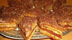 Druh receptu: Dezerty - Page 48 of 64 - Mňamky-Recepty. Russian Cakes, Russian Desserts, Russian Recipes, Köstliche Desserts, Delicious Desserts, Dessert Recipes, Yummy Food, Slovak Recipes, Czech Recipes