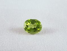 Natural 3.23 cts Peridot Loose Stone Genuine by GemoGemArt on Etsy