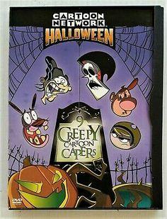 Cartoon Network Halloween: 9 Creepy Cartoon Capers (DVD, for sale online Halloween 2017, Halloween Night, Halloween Candy, Spirit Halloween, Halloween Masks, Baby Halloween, Halloween Make Up, Halloween Themes, Halloween Decorations