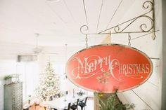 Merry Christmas Sign from Joanna Gaines Magnolia Market