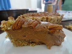 Raw Chocolate Pecan Pie Recipe - Raw Food Bali