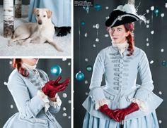 1740s Riding Habit Waistcoat and Shirt