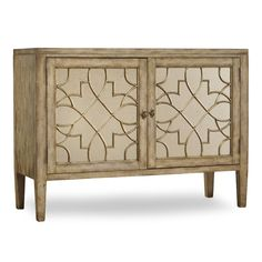 "Hooker Furniture Sanctuary Cabinet 38.25"" H x 52.5"" W x 20"" D"