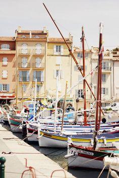 [SAINT TROPEZ]    Harbor of Saint Tropez / Port de Saint Tropez