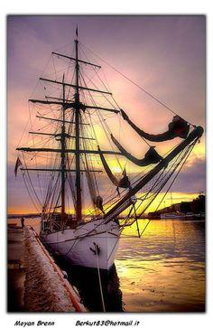 Harbor Sunset, Oslo,