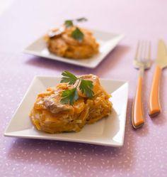 Gratin de patates douces comme un gratin dauphinois sans lait de vache - les meilleures recettes de cuisine d'Ôdélices