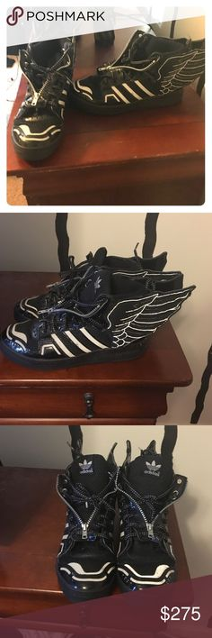 Jeremy Scott's 2.0 ⚫️ Size 9.5 Jeremy Scott's 8/10 Condition Comes With Box . Jeremy Scott x Adidas Shoes Sneakers