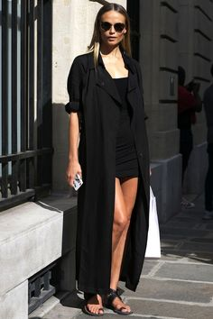 An All-Black Look To Try Before Summer Is Over | Le Fashion | Bloglovin'
