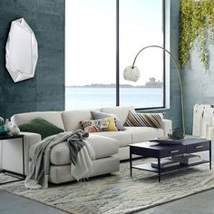 Urban 2-Piece Chaise Sectional   west elm