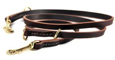 Dean and Tyler DT Dynamite Dog Leash, Brown 7-Feet by 1/2-Inch Width With Solid Brass Hardware. ** For more information, visit image link.