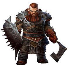 Dwaven Barbarian
