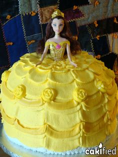 Belle birthday cake!
