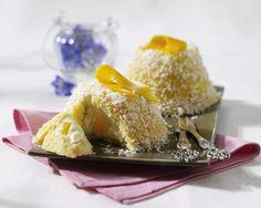 Tartufo mit Mango, Ricottacreme und Kokosraspeln Rezept | LECKER