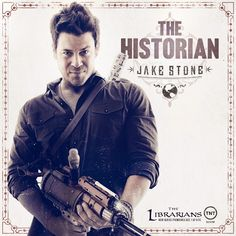 Jake Stone. The Librarians.