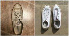 Έγραψε: Το Κόλπο μίας Φοιτήτριας για να Καθαρίζει τα Παπούτσια της έχει Τρελάνει το Διαδίκτυο!