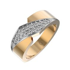 awesome Flash Lightning Diamond Anniversary Ring