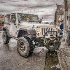 2008 Jeep Wrangler, Lifted Jeeps, Pretty Cool, American Made, Monster Trucks
