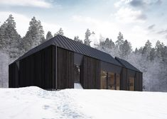 Tind prefabricated house concept by Claesson Koivisto Rune series pitched roofs
