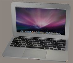3D model - The 3D Poser and DAZ Studio macbook laptop model has well detailed textures, a movement to open and close the lid as well as a LCD panel template so that the display can be changed to suit your needs.