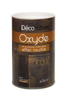 Donnez une tendance rétro vintage à vos meubles avec un effet métal oxydé !