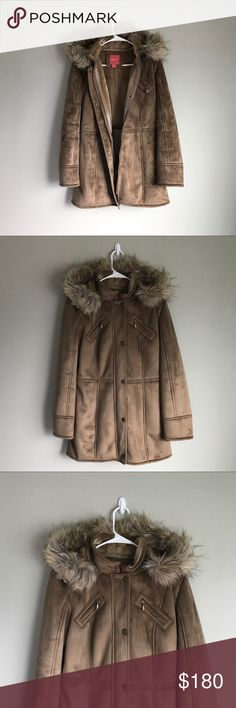 ESPRIT   Siberia Faux Shearling Coat EUC   This new European-style parka is the perfect winter coat. It's a top trending item for the upcoming season. Dress it up with some hot jeans and booties- or accentuate the Euro-style with your favorite chunky sweater, oversized scarf and bold sunnies. 🌸 Offers Welcome! 🌸 Esprit Jackets & Coats