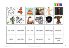 IE 3 Speech And Language, Spelling, Mini, Therapy, Education, School, Languages, Healing, Onderwijs