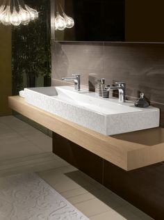 Bathroom, Fantastic Villeroy Boch New Bathroom Vanity Furniture Set Designed In Modern Design Ideas To Enlarge The Small Bath Space ~ Bathroom Furnishing Ideas in Stylish Contemporary Touch
