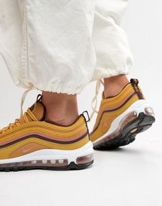 check out 316d9 a406f Nike Gold Tan Air Max 97 Trainers