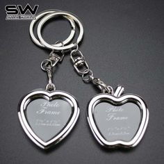 Starworld Creative Couple Frame Keychain Personality Love Key Chain Po Key Ring 2017 New Style Key Holder