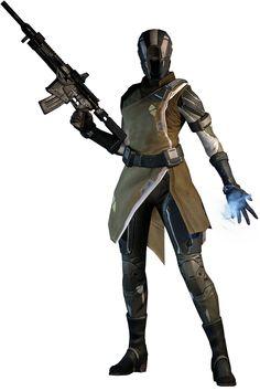 Female Ibumic Commando, also a Cursor Warrior