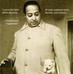 Wisdom, light, and love from Paramhansa #Yogananda