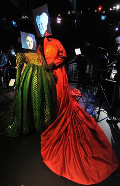 Bram Stoker's Dracula - Winona Ryder as Elisabetta and Gary Oldman as Dracula Hollywood Costume - press view held at the Victoria and Albert Museum. London, England - 17.10.12 Daniel Deme/WENN.com